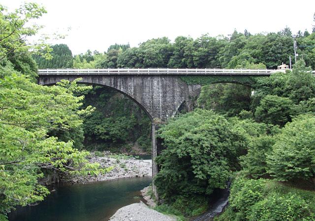 轟橋(大分県豊後大野市清川町)