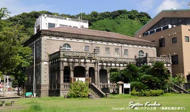 鹿児島県立博物館考古資料館は明治16年に建造された県内で2