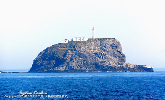烏帽子島(糸島市)・福岡地域別探検 烏 帽 子 島 ( えぼしじま )